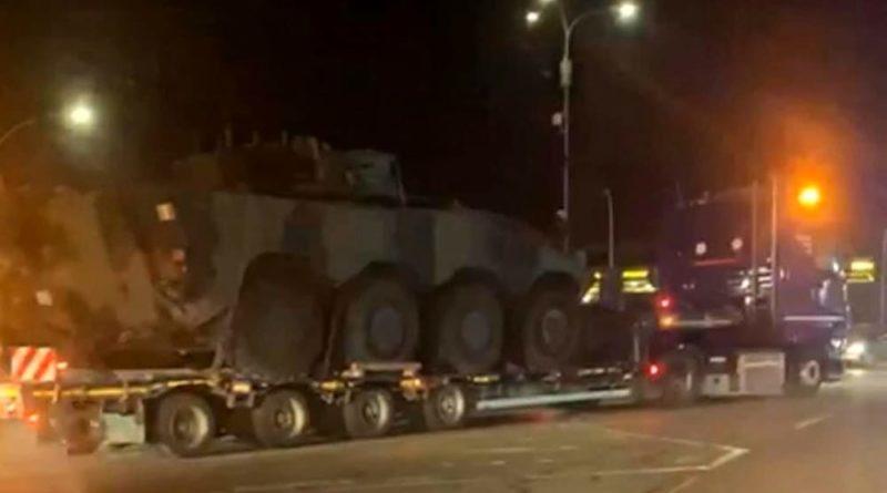 carri armati autostrada pescara nord città sant'angelo
