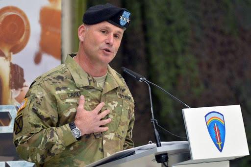 Comandante Christopher Cavoli Coronavirus